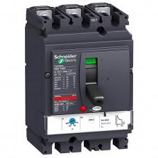 Автоматический выключатель с магнитотерм. расцепителем Schneider Electric Compact NSX100N TM100D, 3 полюса, 100А, 50 кА