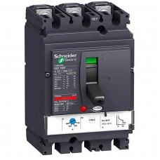 Автоматический выключатель с магнитотерм. расцепителем Schneider Electric Compact NSX160N TM125D, 3 полюса, 125А, 50 кА