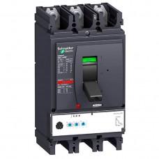 Автоматический выключатель с электрон. расцепителем Micrologic 2.3 Schneider Electric Compact NSX400F, 3 полюса, 400А, 36 кА