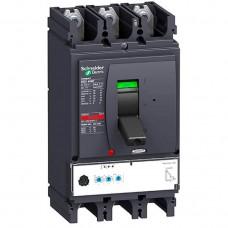 Автоматический выключатель с электрон. расцепителем Micrologic 2.3 Schneider Electric Compact NSX630N, 3 полюса, 630А, 50 кА