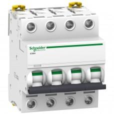 Автоматический выключатель Schneider Acti9 iC60N 32A 4P С (A9F79432)