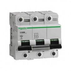 Автоматический выключатель Schneider Electric iK60N, 63А, кривая C, 3 полюса