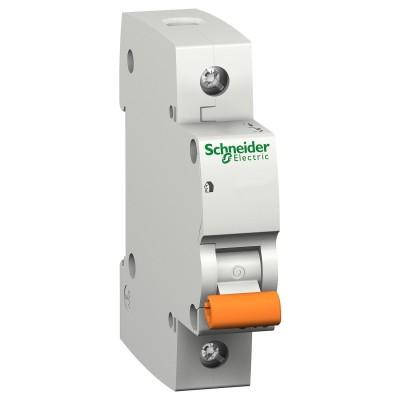 Автоматический выключатель Schneider Electric ВА63 Домовой, 10А, 1-полюсный (11202)