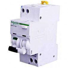 Дифференциальный автомат Schneider Electric iDPN N Vigi, 10А, 300мА, 1 полюс + нейтраль, тип A