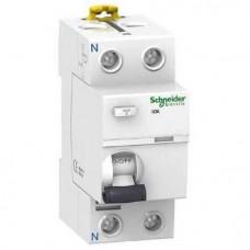 Устройство защитного отключения (УЗО) Schneider Electric iID K, 40А, 30мА, 2 полюса (A9R50240)