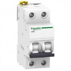 Автоматический выключатель Schneider Electric iK60N, 1А, кривая B, 2 полюса