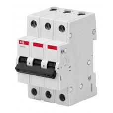 Автоматический выключатель ABB 10А 3 полюса C BMS413C10 (2CDS643041R0104)