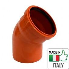 Колено (отвод) монтажное PVC для наружной канализации Redi Ø250x45°
