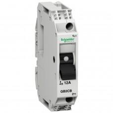Автоматический выключатель для защиты двигателя Schneider Electric TeSys 1P-6А-id-83A (GB2CB12)