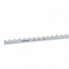 Гребенчатая шинка двухполюсовая для Schneider ВА63 2П, 1 метр (Германия) 10390