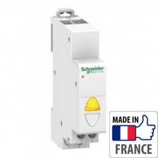 Световой индикатор на DIN-рейку Schneider Electric Acti 9 iIL, простой индикатор, желтый, 110-230В пер. тока