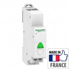 Световой индикатор на DIN-рейку Schneider Electric Acti 9 iIL, простой индикатор, зеленый, 110-230В пер. тока