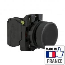 XB5AA21 Кнопка с пружинным возвратом Schneider Electric XB5-A, черная, пластик. основание, 1NO