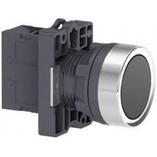 XA2EA21 Кнопка XA2 пружинная поворотная, черная, 1НО