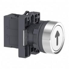 XA2EA3341 Кнопка ХА2, пружинная поворотная, белая с маркировкой, 1НО