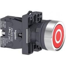 "XA2EA4322 Кнопка ХА2, пружинная поворотная, красная с ""0"", 1НЗ"