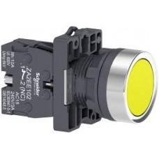 XA2EA51 Кнопка XA2 пружинная поворотная, желтая, 1НО