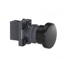 XA2EC21 Кнопка гриб, 40мм, черная, 1НО