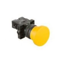 XA2EC51 Кнопка гриб, 40мм, желтая, 1НО
