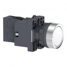 XA2EW31B1 Кнопка с подсветкой, LED, 24В, белая, 1НО