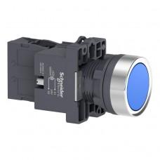 XA2EW36B1 Кнопка с подсветкой, LED, 24В, синяя, 1НО