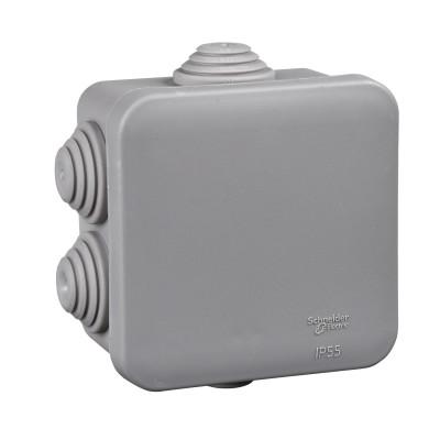 Розподільна коробка відкритої установки Schneider Electric 70x70x40 (IMT35090)