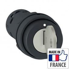 Переключатель с ключом Schneider Electric XB7, 2 положения с фиксацией, в монолитном корпусе, 1NO XB7NG21