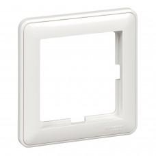 1-постовая рамка, белая Schneider W59 (KD-1-18)