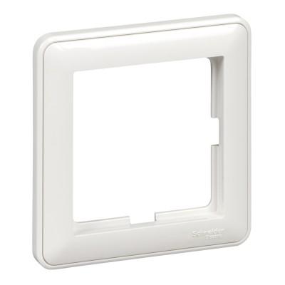 1-постовая рамка белая Schneider Electric W59 (KD-1-18)