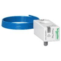 Беспроводной датчик PowerTag 63 А, 1 полюс + нейтраль, Schneider Electric (A9MEM1520)
