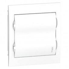 Щиток распределительный встраеваемый Schneider Electric Easy9 на 24 модуля, белая дверца