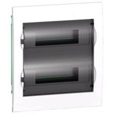 Щиток распределительный встраеваемый Schneider Electric Easy9 на 24 модуля, дымчатая дверца