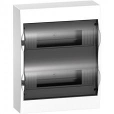 Щиток распределительный навесной Schneider Electric Easy9 на 24 модуля, дымчатая дверца