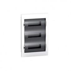 Щиток распределительный встраеваемый Schneider Electric Easy9 на 36 модулей, дымчатая дверца