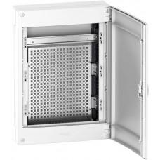 Щиток мультимедийный навесной Schneider Electric Pragma 3 ряда, 13 модулей (PRA318SU)