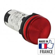Сигнальная лампа со встроенным светодиодом Schneider Electric XB7, красная, в монолитном корпусе, 24В XB7EV04BP