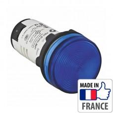Сигнальная лампа со встроенным светодиодом Schneider Electric XB7, синяя, в монолитном корпусе, 24В XB7EV06BP