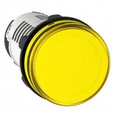 XA2EVB8LC  Светод. индикатор, 24В AC/DC, желтый
