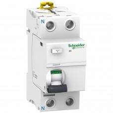 УЗО — Дифференциальный выключатель нагрева iID 2P 25A 300мА AC (A9R44225)