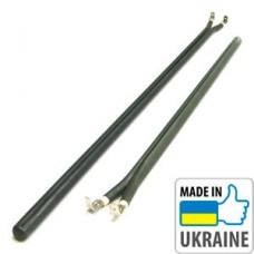 Сухой ТЭН 0,8 кВт, труба, Tenko (нержавеющая сталь)
