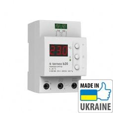 Цифровой терморегулятор для теплого пола Terneo B20