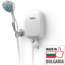 Проточный водонагреватель Tesy IWH 50 X02 BAH (5 кВт) с душевой лейкой