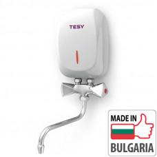 Проточный водонагреватель Tesy IWH 50 X02 KI (5 кВт) со смесителем