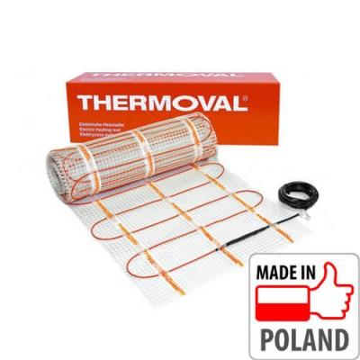 Теплый пол - Нагревательный мат THERMOVAL TV TO 50, 1 м² (двухжильный)