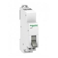 Переключатель двухпозиционный Schneider Electric Acti 9 iSSW, 1 переключающий контакт, 1 модуль