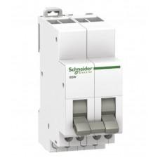 Переключатель двухпозиционный Schneider Electric Acti 9 iSSW, 2 переключающих контакта, 2 модуля