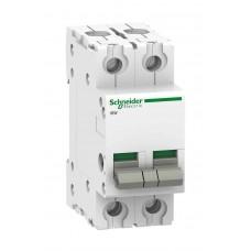 Выключатель-разъединитель Schneider Electric Acti 9 iSW, 100 А, 2 полюса, 415В пер.тока