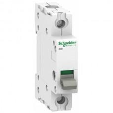 Выключатель-разъединитель Schneider Electric Acti 9 iSW, 100 А, 1 полюс, 250В пер.тока