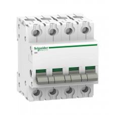 Выключатель-разъединитель Schneider Electric Acti 9 iSW, 100 А, 4 полюса, 415В пер.тока
