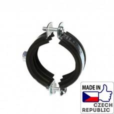 PP-R Хомут металлический (болт\гайка) под диаметр трубы 102-116мм, Wavin Ekoplastik, PRKB102116